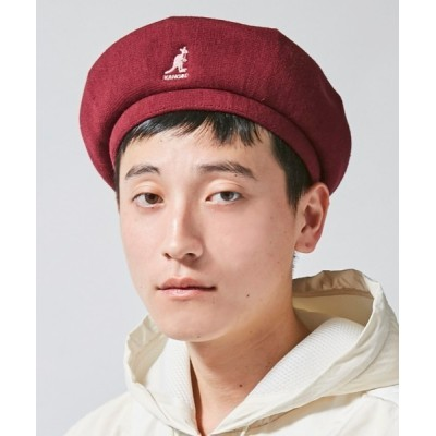 OVERRIDE / 【KANGOL】Bamboo Jax Beret/【カンゴール】バンブー ジャックス ベレー オーバーライド MEN 帽子 > ハンチング/ベレー帽