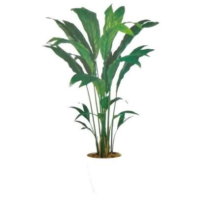 (造花 人工観葉植物)チャメドレア バーク付き / 高:160cm × 横:90cm  / 造花・インテリア・ディスプレイ・グリーン | BV98878