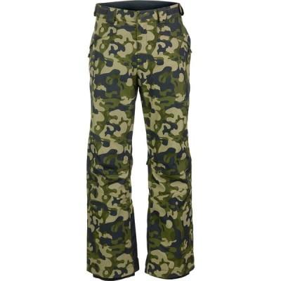 【25日 P最大32倍】(取寄)マウンテンハードウェア 2 インサレーテッド パンツ - メンズ Mountain Hardwear Firefall 2 Insulated Pant - Men's Dark Army Camo