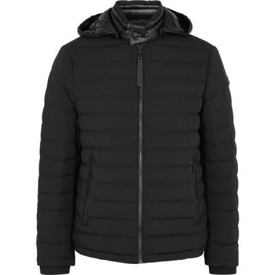 ムースナックル Moose Knuckles メンズ ジャケット シェルジャケット アウター black rock black quilted shell jacket Black