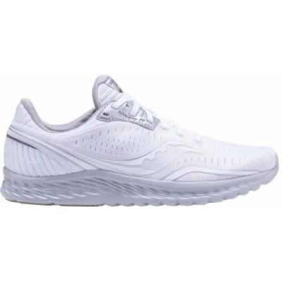 サッカニー メンズ スニーカー シューズ Kinvara 11 Running Sneaker White/Grey Engineered Mesh