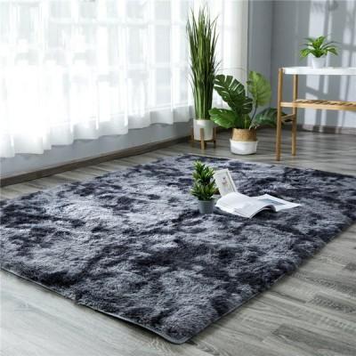 絨毯 ラグ 毛長4cm 厚手 中敷カーペット 床保護マット 北欧 シンプル おしゃれ 洗える 防滑毛も落としにくい 色落ちなし 防音 寝室