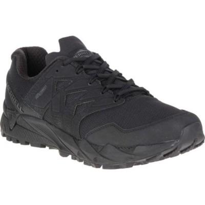 メレル ブーツ&レインブーツ シューズ メンズ Agility Peak Tactical Work Shoe (Men's) Black Ballistic Mesh/TPU