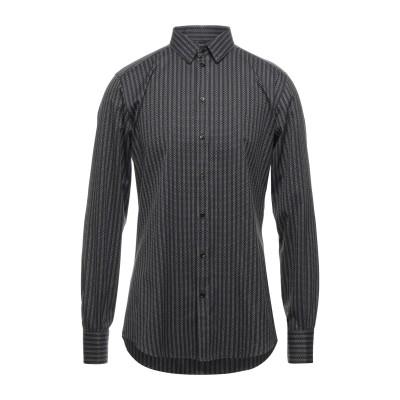 ドルチェ & ガッバーナ DOLCE & GABBANA シャツ ブラック 41 コットン 100% シャツ