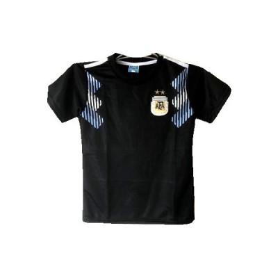 子供用 K041 アルゼンチン 黒水 19 ゲームシャツ パンツ付 ユニフォーム ジュニア