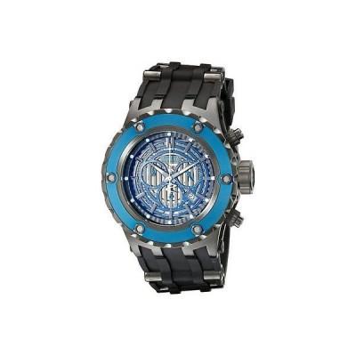 腕時計 インヴィクタ メンズ Invicta16828 Subアクア Reserve スイス クロノグラフ ブルー ダイヤル ブラック Poly 腕時計