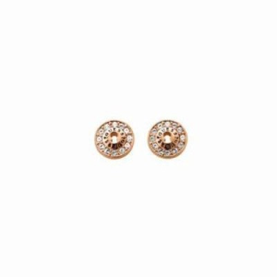 ゲス イヤリング・ピアス All Locked Up Earrings rose gold