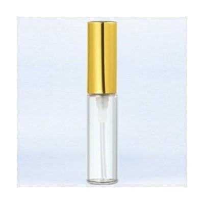 グラスアトマイザー プラスチックポンプ 無地 5201 アルミキャップ ゴールド
