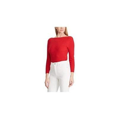 Ralph Lauren Womens Red Long Sleeve Boat Neck Sweater Size XXL並行輸入品 送料無料