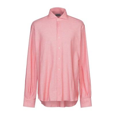 ORIAN シャツ レッド 44 コットン 100% シャツ