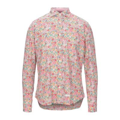TINTORIA MATTEI 954 シャツ ピンク 40 コットン 50% / リネン 50% シャツ