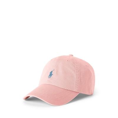 POLO RALPH LAUREN 帽子 ピンク one size コットン 100% 帽子