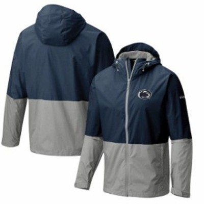 Columbia コロンビア スポーツ用品  Columbia Penn State Nittany Lions Navy Collegiate Roan Mountain Jacket