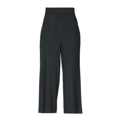 CLIPS パンツ ブラック 48 レーヨン 70% / アセテート 26% / ポリウレタン 4% パンツ