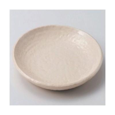 丸皿 白志野丸7.0皿 高さ28mm×口径:200/業務用/新品