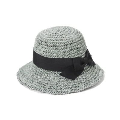 帽子屋ONSPOTZ / イロドリ キッズ帽子 IROAKU AKURI KIDS ストロー ハット KIDS 帽子 > ハット