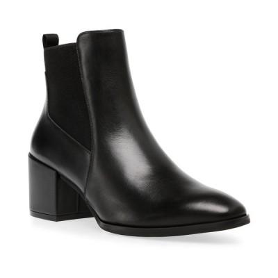 アンクライン ブーツ&レインブーツ シューズ レディース Parson Chelsea Booties Black Leather