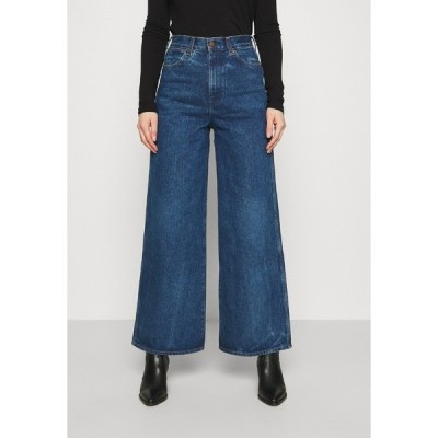 ラングラー デニムパンツ レディース ボトムス WORLD WIDE - Relaxed fit jeans - under water