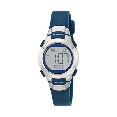 海外限定 Armitron Sport Women's 45/7012NVSV Digital Watch with Matte Navy Strap