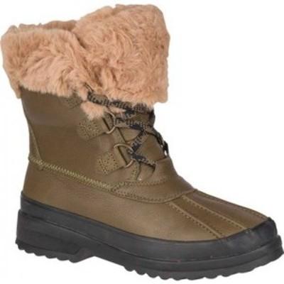 スペリートップサイダー Sperry Top-Sider レディース ブーツ シューズ・靴 Maritime Winter Boot Olive Leather