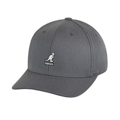 Kangol スポーツコレクション メンズ ウールフレックスフィット ベースボールキャップ US サイズ: XX-Large カラー: グレー