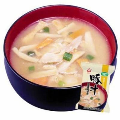 アマノフーズ フリーズドライ 無添加 味噌汁 豚汁 (国産豚肉使用) 1袋