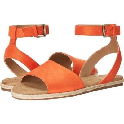 エアロソールズ Aerosoles レディース サンダル・ミュール シューズ・靴 Demarest Orange Fabric