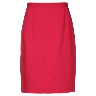 ブルマリン BLUMARINE ひざ丈スカート フューシャ 42 レーヨン 97% / ポリウレタン 3% ひざ丈スカート