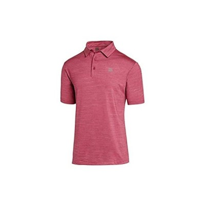 Three Sixty Six Golf Shirts for Men - Dry Fit Short-Sleeve Polo, Athletic C