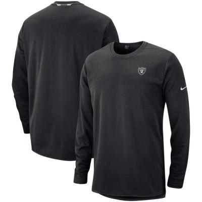 Las Vegas Raiders Nike Sideline Modern Pullover スウェットシャツ - Black