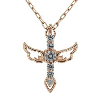 ネックレス・レディース・クロス・18金・ダイヤモンド・20代・30代・40代・彼女・妻・プレゼント