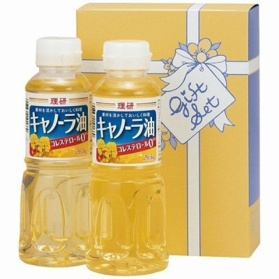 オイルギフト 理研キャノーラ油セット B6037510