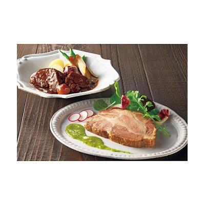 【お歳暮】<ケーファー> 牛ほほ肉の赤ワイン煮&イベリコ豚のローストポークセット【三越伊勢丹/公式】