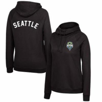 Mitchell & Ness ミッチェル アンド ネス スポーツ用品  Mitchell & Ness Seattle Sounders FC Womens Black Funnel Nec
