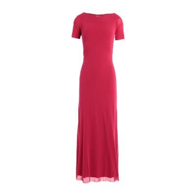 FUZZI ロングワンピース&ドレス ガーネット S ナイロン 100% ロングワンピース&ドレス