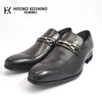 HIROKO KOSHINO HOMME コシノ ヒロコ オム HK120 ローファー ビット スリッポン ビジネスシューズ 紳士靴 メンズ (nesh) (送料無料)