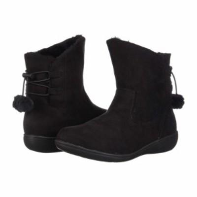 ソフトスタイル Soft Style レディース ブーツ シューズ・靴 Jazzy Black Faux Suede