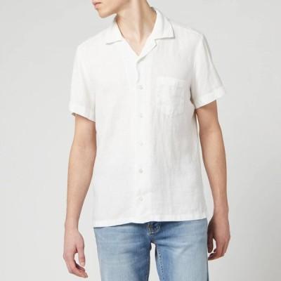ヒューゴ ボス BOSS Hugo Boss メンズ シャツ トップス Rhythm Shirt White