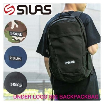 SILAS サイラス バックパック【UNDER LOGO BIG BACKPACK】通勤 通学 バッグ リュックサック メンズ 10193028