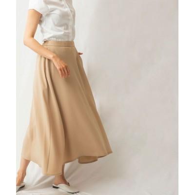 【ナラカミーチェ】 Aラインスカート レディース ブラウン系 1 NARA CAMICIE