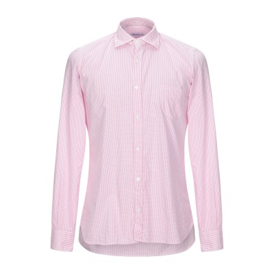GIAMPAOLO シャツ フューシャ 38 コットン 100% シャツ