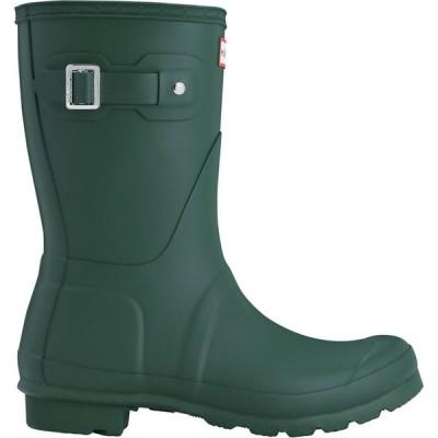 ハンター Hunter レディース レインシューズ・長靴 シューズ・靴 Original Short Wellies Hunter Green