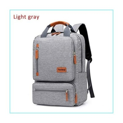 CHUNNONG Backpack Men's Travel Backpack, Casual Business Laptop Bag, Backpack (Color : Light Grey)