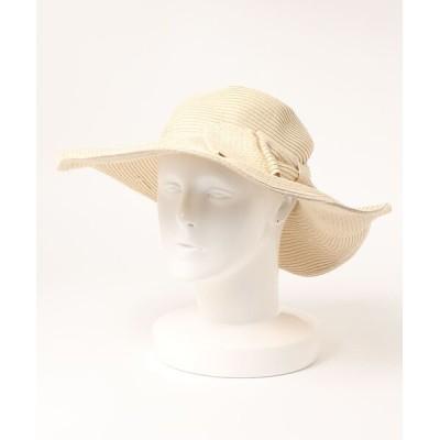 Coo+i / リボン付きリゾートハット WOMEN 帽子 > ハット
