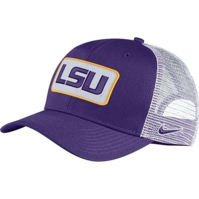 ナイキ Nike メンズ キャップ トラッカーハット 帽子 LSU Tigers Purple Classic99 Trucker Hat