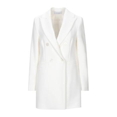 カオス KAOS コート ホワイト 40 ポリエステル 63% / レーヨン 33% / ポリウレタン 4% コート