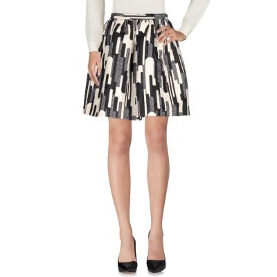 ブルーガール ブルマリン BLUGIRL BLUMARINE ひざ丈スカート ブラック 42 ポリエステル 60% / コットン 40% ひざ丈スカ
