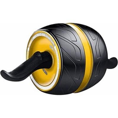 腹筋ローラー アブホイール 自動リバウンド式 エクササイズウィル エクササイズローラー 超静音 スリムトレーナー 男女兼用 取り付け簡単