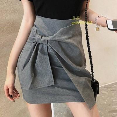 ラップスカート 巻きスカート スカート ミニスカート カジュアル フェミニン ボトムス デート かわいい おでかけ プチプラ オシャレ ウエストマーク ショート丈