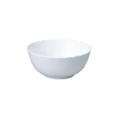 NARUMI ナルミ ボーンチャイナ シルキーホワイト 14cmボウル 9968-3443p